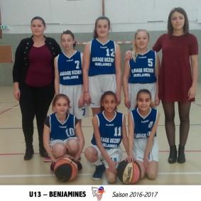 U13 BENJAMINES - 10X15