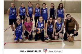 U15 MINIMES FILLES - 10X15