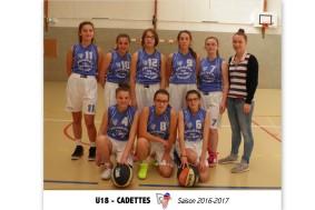 U18 CADETTES - 10X15